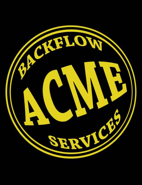 ACME BACKFLOW SERVICES
